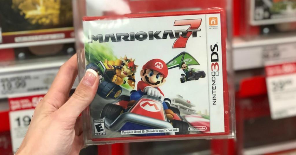 Amazon Mario Kart 7 Nintendo 3ds Game Just 19 99 Reg 30 Dealing In Deals